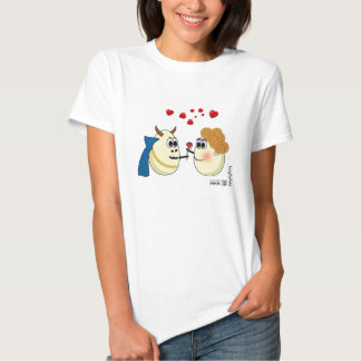 Beautiful and the Beast: love between two eggs Tshirt