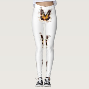 Beautiful and Unique Butterfly Leggins Leggings