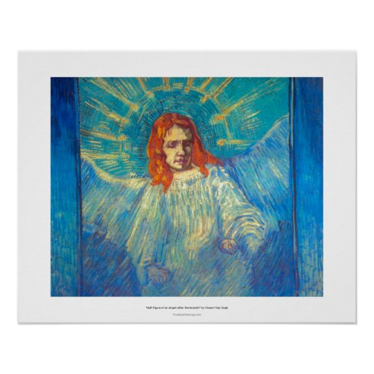 Beautiful Angel art glorious painting by Van Gogh