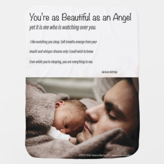 Beautiful Angel Baby Blanket