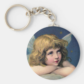 Beautiful Angel Etching Key Chains