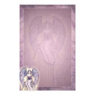 Beautiful Angel Fantasy Art Stationery