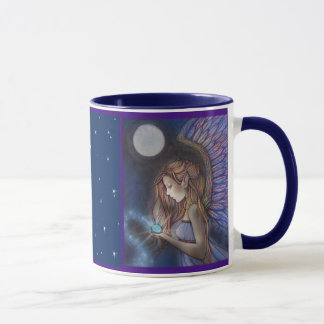 Beautiful Angel Mug by Molly Harrison