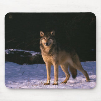 beautiful animals of the wild mouse pad