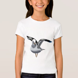 Beautiful animation seagull illustration T-Shirt