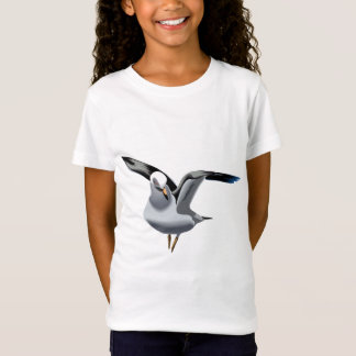 Beautiful animation seagull illustration T-Shirt