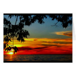 Beautiful Anniversary From Sunrise To Sunset Greeting Card