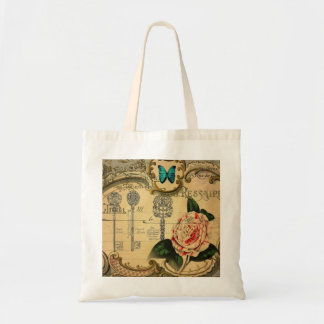 beautiful antique floral and butterfly design bags