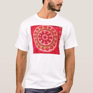 Beautiful Antique Turkish Kilim circa 1750 T-Shirt