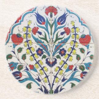 Beautiful Antque Vintage Ottoman tile Drink Coaster