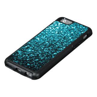 Beautiful Aqua blue glitter sparkles OtterBox iPhone 6/6s Case