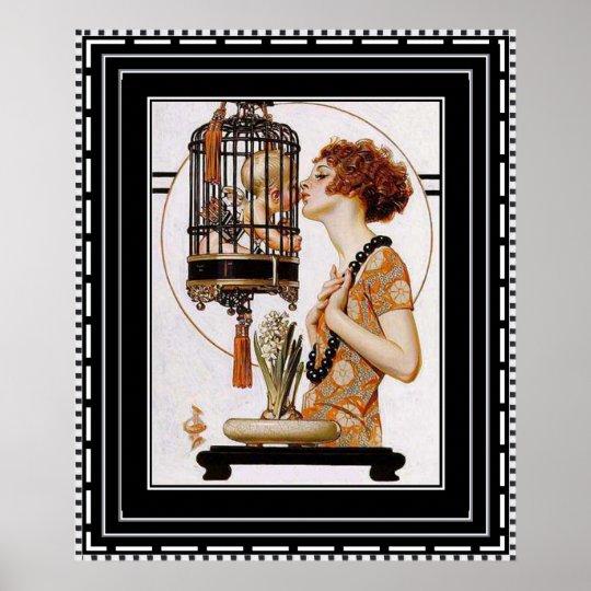 Beautiful Art Deco Print