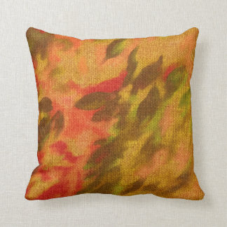 Beautiful artistic colorful pillow cushion