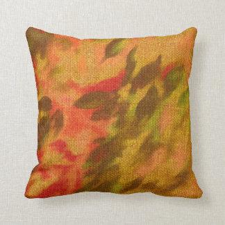 Beautiful artistic colorful pillow cushion