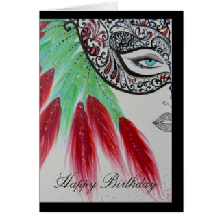 Beautiful Artistic Greeting Card