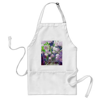 Beautiful Artistically Altered Lily of the Valley Standard Apron