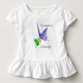 Beautiful as a Butterfly Toddler T-Shirt