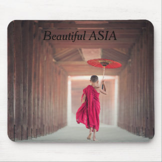 Beautiful Asia Postcard with your text Mouse Mat