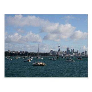 Beautiful Auckland Skyline Postcards