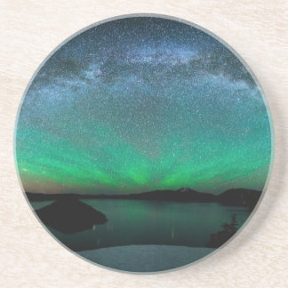 Beautiful Aurora Borealis / northern lights Coaster