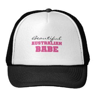 Beautiful Australian Babe Trucker Hats