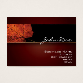 Beautiful Autumn Business Card