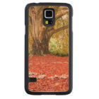Beautiful Autumn Fall Nature Fairy Ring Carved Maple Galaxy S5 Case