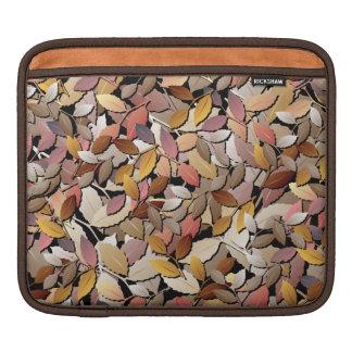 Beautiful Autumn Leaves iPad Sleeve
