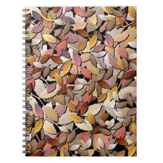Beautiful Autumn Leaves Notebook