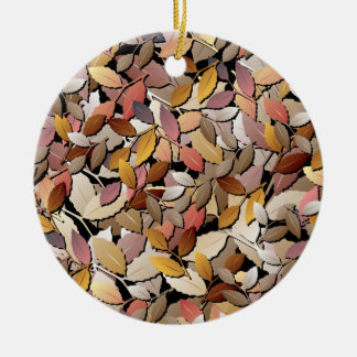 Beautiful Autumn Leaves Ornament