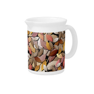 Beautiful Autumn Leaves Pitcher