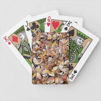 Beautiful Autumn Leaves Playing Cards