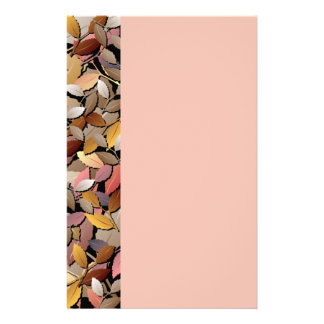Beautiful Autumn Leaves Stationery