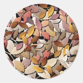 Beautiful Autumn Leaves Sticker