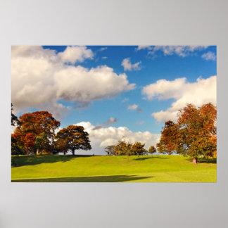 Beautiful Autumn, Scotland Posters