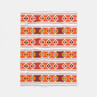 Beautiful Aztec Art Fleece Blanket
