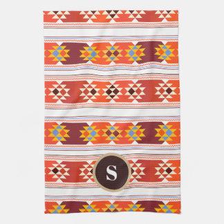 Beautiful Aztec Art Tea Towel