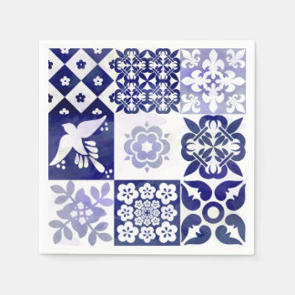 Beautiful Azulejos Napkin Paper Serviettes