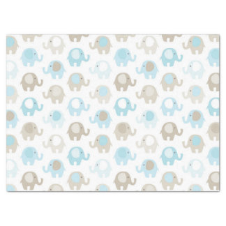 Beautiful Baby Blue Elephant Tissue Paper