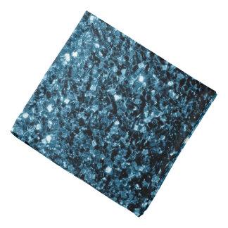 Beautiful Baby blue glitter sparkles Bandana