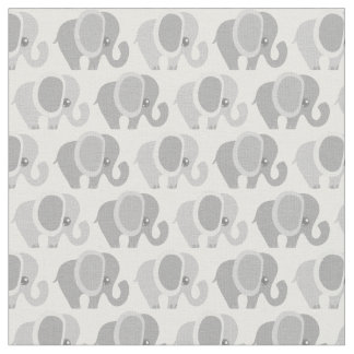Beautiful Baby Elephants Fabric