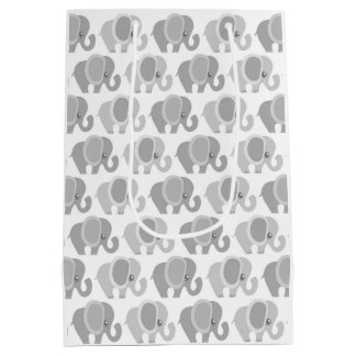 Beautiful Baby Elephants Medium Gift Bag