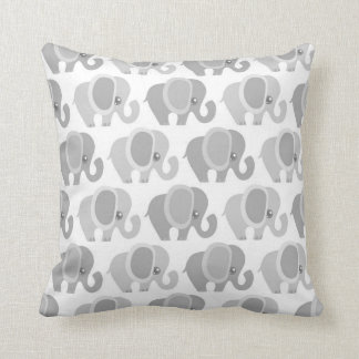 Beautiful Baby Elephants Throw Cushions