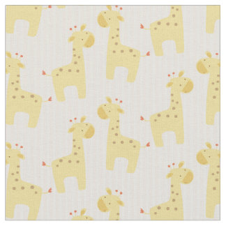 Beautiful Baby Giraffe Fabric