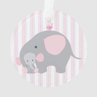 Beautiful Baby Girl Pink Elephant