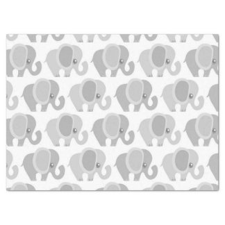 Beautiful Baby Neutral Elephant Tissue Paper