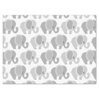 Beautiful Baby Neutral Gray Elephant Tissue Paper