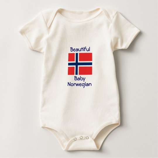 Beautiful Baby Norwegian Baby Bodysuit