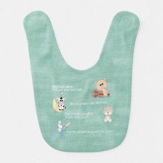 Beautiful Baby Nursery Rhymes Baby Bibs