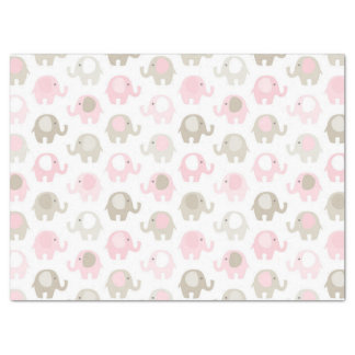 Beautiful Baby Pink Elephant Tissue Paper